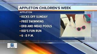 Children's Week in Appleton featuring the rummage sale