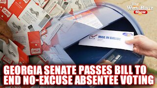 Georgia Senate Passes Bill to End No-Excuse Absentee Voting