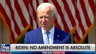 Joe Biden Takes Gun Control Lie Detector Test
