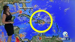 Tropical wave could bring wet Labor Day to Florida