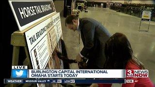 Burlington Capital International Omaha goes through April 7th