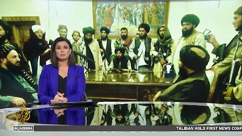 Taliban's First News Conference of the New Government from Kabul