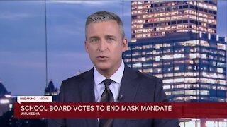 Waukesha School Board decides masks are no longer mandatory, effective immediately