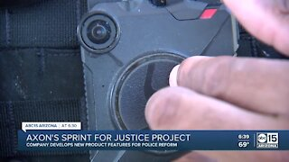 Axon's Sprint for Justice project