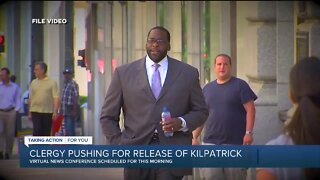 Detroit clergy pushing for release of Kwame Kilpatrick