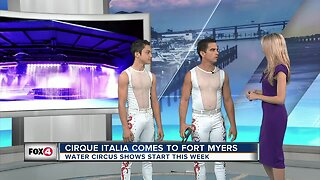 Water Circus touring through Florida
