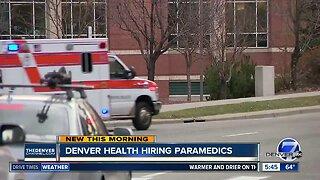 Denver Health hiring paramedics