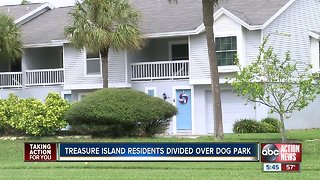 Treasure Island residents divided over a proposed dog park