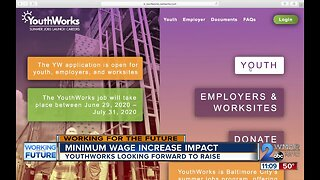 Youthworks looking forward to minimum wage increase