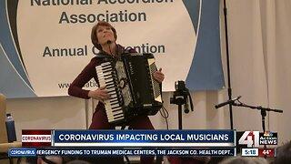 Coronavirus impacting local musicians