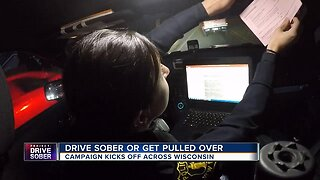 """""""Drive Sober or Get Pulled Over"""" campaign kicks off across Wisconsin"""