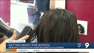 Tucson hair salon offers free haircuts for kids heading back-to-school