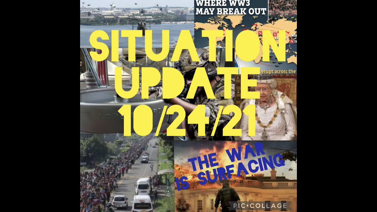 Situation Update: War Is Surfacing! Trump Is In A Safe Location! Military Coups In Many Countries! Martial Law! - Must Video
