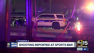 Police investigate shooting at Valley sports bar