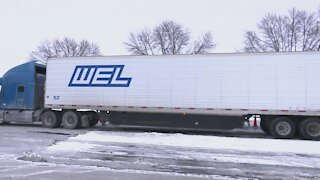 Freight deliveries can be impacted during icy conditions