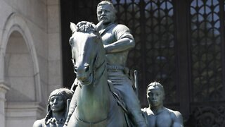 American Museum Of Natural History To Remove Theodore Roosevelt Statue
