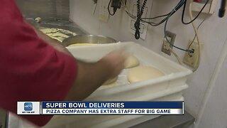 Local delivery businesses prepare for the Super Bowl rush
