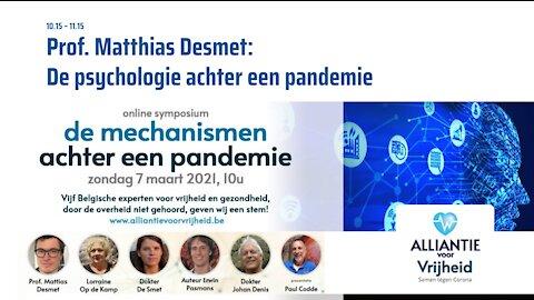 1. Prof. Mattias Desmet - Symposium Artsen Voor Vrijheid 7-3-2021