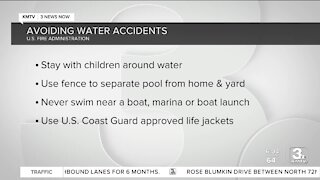 Avoiding water accidents over holiday weekend