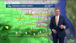 Rain returns Saturday with highs in the 50s