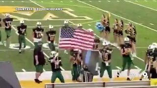 Little Miami football players no longer suspended for flag incident