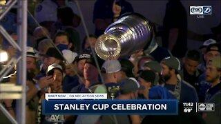 Tampa Bay celebrates Lightning's Stanley Cup run