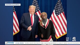 President Trump meets with Lil Wayne to discuss criminal justice reform