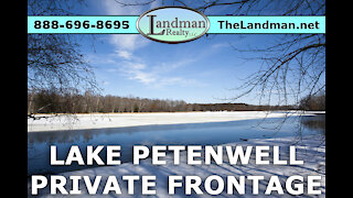 Lake Petenwell Lot 17 Lakeview – PRIVATE Frontage Video Tour - Landman Realty LLC