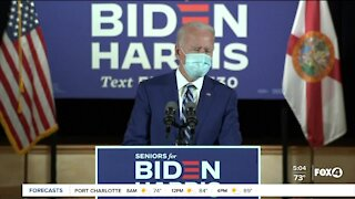 Biden seeks senior votes