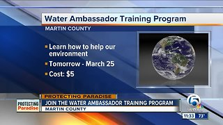 Martin County offering Water Ambassador program to help the environment