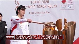 Olympic hopefuls concerned about impact of coronavirus on summer games