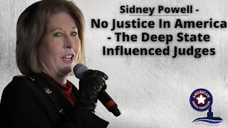 Sidney Powell - No Justice In America, Thoughts On The Deep State Influenced Judges - With JMC