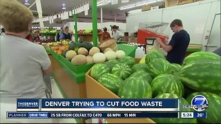 Denver trying to cut food waste