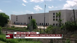 Worker dies at Amazon construction site
