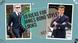 James Bond - 10 Secret Agent 007 Style Look Ideas [#07]