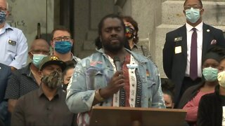 Lawmakers, families of victims of police violence speak after Senate Bill 217 signed
