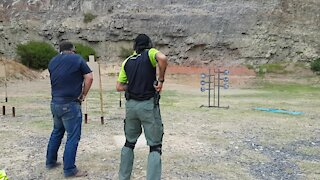 SOUTH AFRICA - Cape Town - Western Cape Firearms Festival (video) (vYJ)