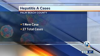 New case of Hepatitis A confirmed in Palm Beach County
