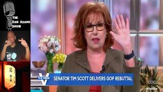Joy Behar Lecturing Tim Scott About RACISM???