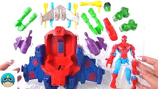 Marvel Super Hero Mashers Spider-Man Skycrawler Action Figure New Toy Unboxing Video