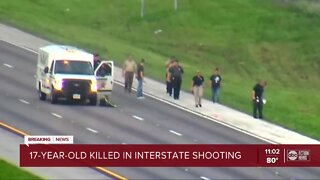 Teen killed in I-4 shooting in Hillsborough County