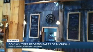 Gov. Whitmer reopens parts of Michigan