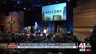 United Methodist Church of the Resurrection pastor updates members after controversial vote