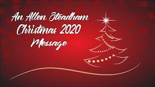 A Christmas 2020 Message