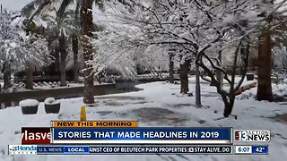 Stories that made headlines 2019