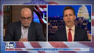 Sen Hawley: America Needs to Break Up Big Tech, Return Power 'Back To The People'