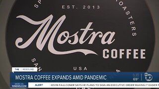 Mostra coffee expands during pandemic