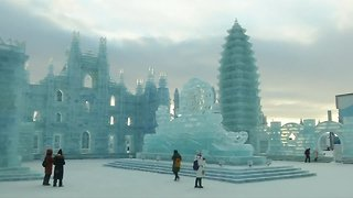 World's largest snow and ice festival wows in China