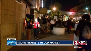 More protests in the Old Market Wednesday night