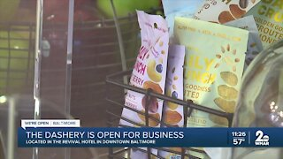Dashery is open for business in Downtown Baltimore